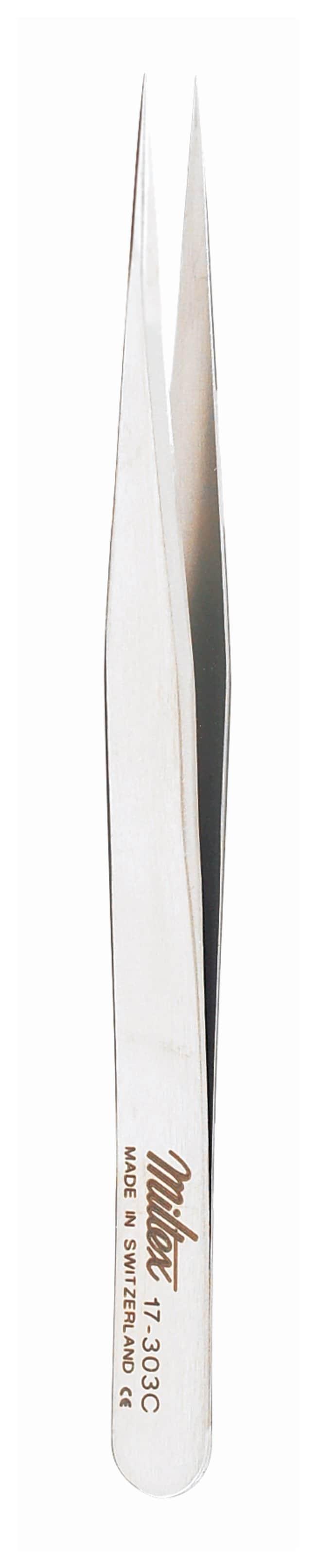 IntegraMiltex Swiss Jeweler-Style Forceps Style 3C; Narrow; ExtraFine;