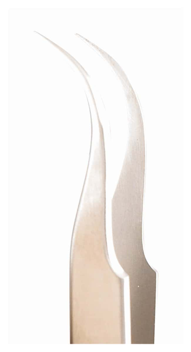 IntegraMiltex Swiss Jeweler-Style Forceps Style 7; Micro-fine, curved;