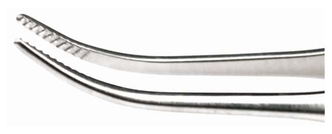 Integra MiltexGraefe Eye Dressing Forceps Curved; Serrated; 2.75 in. (7cm):Surgical