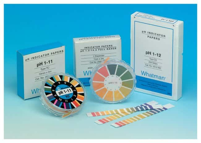 GE Healthcare Whatman™ pH Indicator Papers, CF Strips: Additional Soil Testing Consumables Soil Testing and Analysis