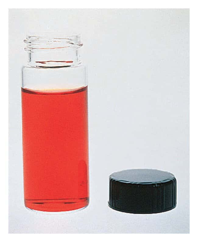 Fisherbrand Class B Clear Glass Threaded Vials With Closures Packaged Separately