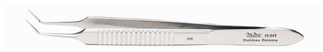Integra MiltexMcPherson Micro Iris Suturing Forceps:Surgical Tools:Forceps