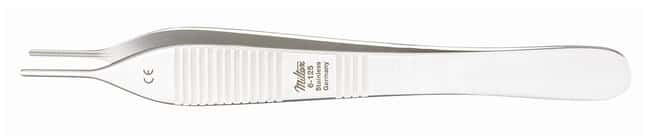 Integra Miltex DeBakey-Adson Tissue Forceps Length: 4 .75 in.:Spatulas,