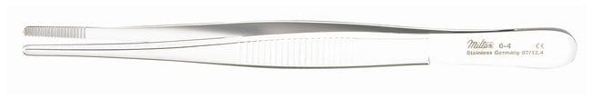 Integra MiltexDressing Forceps: Serrated Handle and Tips Serrated handles