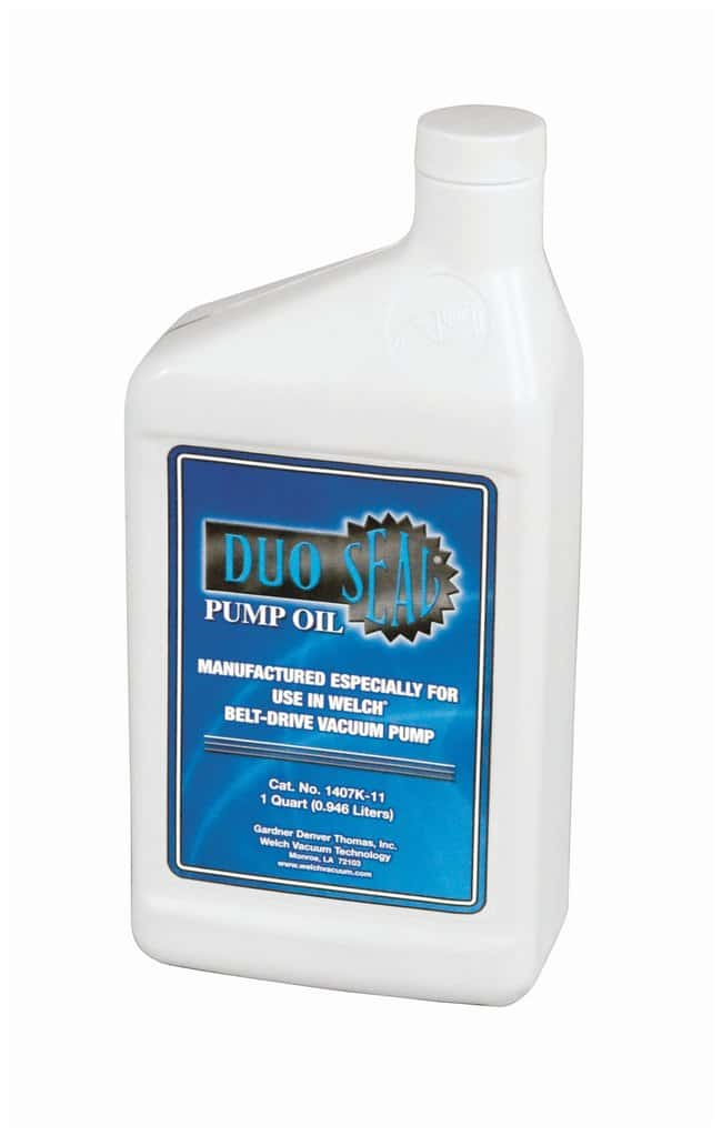 Welch DuoSeal Pump Oil 1 qt.:BioPharmaceutical Production