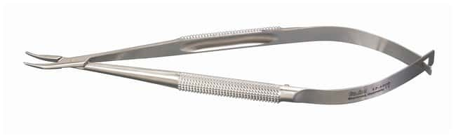 Integra MiltexMicrosurgery Needle Holders Curved jaws; 0.6mm tips; 5.25