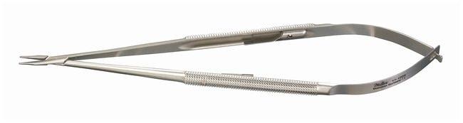 Integra MiltexMicrosurgery Needle Holders Straight jaws; Locking; 0.6mm