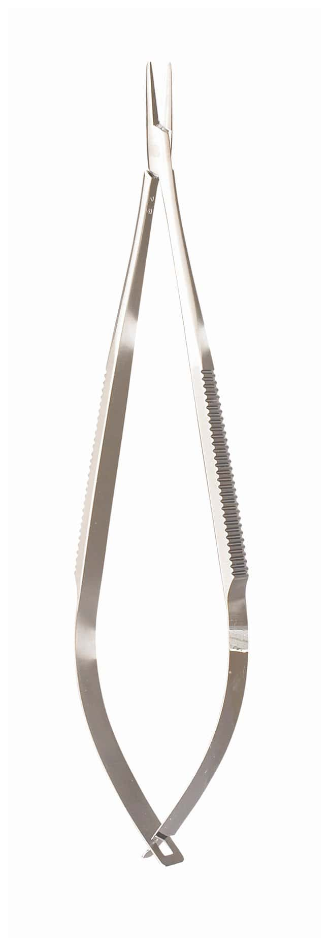 Integra MiltexCastroviejo Needle Holders Straight; Without lock; 5.5 in.