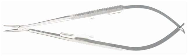 Integra MiltexCastroviejo Needle Holders Straight; With lock; 5.5 in. (14cm):Dissection