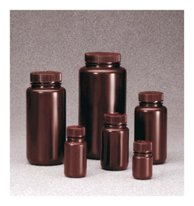 Thermo Scientific™Nalgene™ Wide-Mouth Lab Quality Amber HDPE Bottles: Bottles Bottles, Jars and Jugs