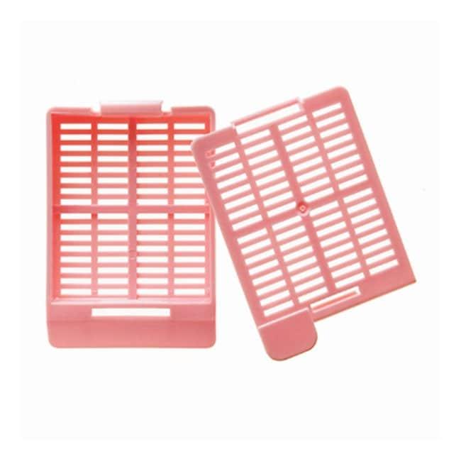 Cancer Diagnostics, Inc. Hinged Tissue Cassettes (Slat Holes) - Taped Bases