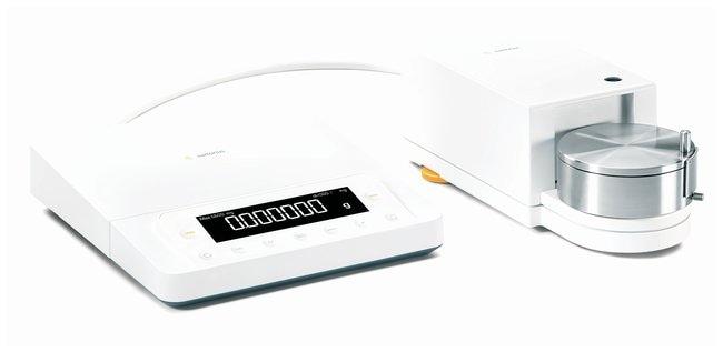 Sartorius™Microbalanzas Cubis™: módulo de pesaje 6.6S Model: MSE6.6S-000-DF; Black/White LCD screen with keys; Certificate of conformity to specs; DF manual stainless steel draft shield Sartorius™Microbalanzas Cubis™: módulo de pesaje 6.6S