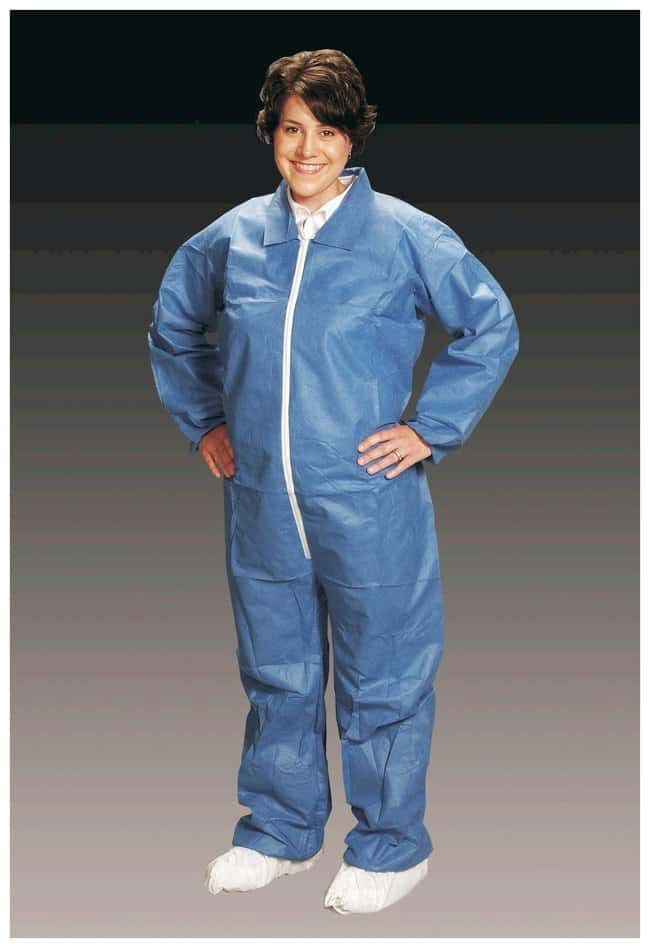 AlphaProTech Critical Cover AlphaGuard Coveralls i Blue; 6X-Large:Gloves,