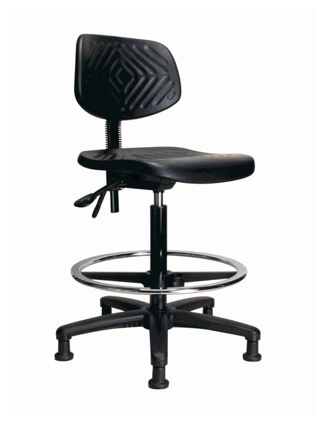 Fisher Science Education&trade;&nbsp;Pneumatic Polyurethane Chair, High-Bench Height&nbsp;<img src=