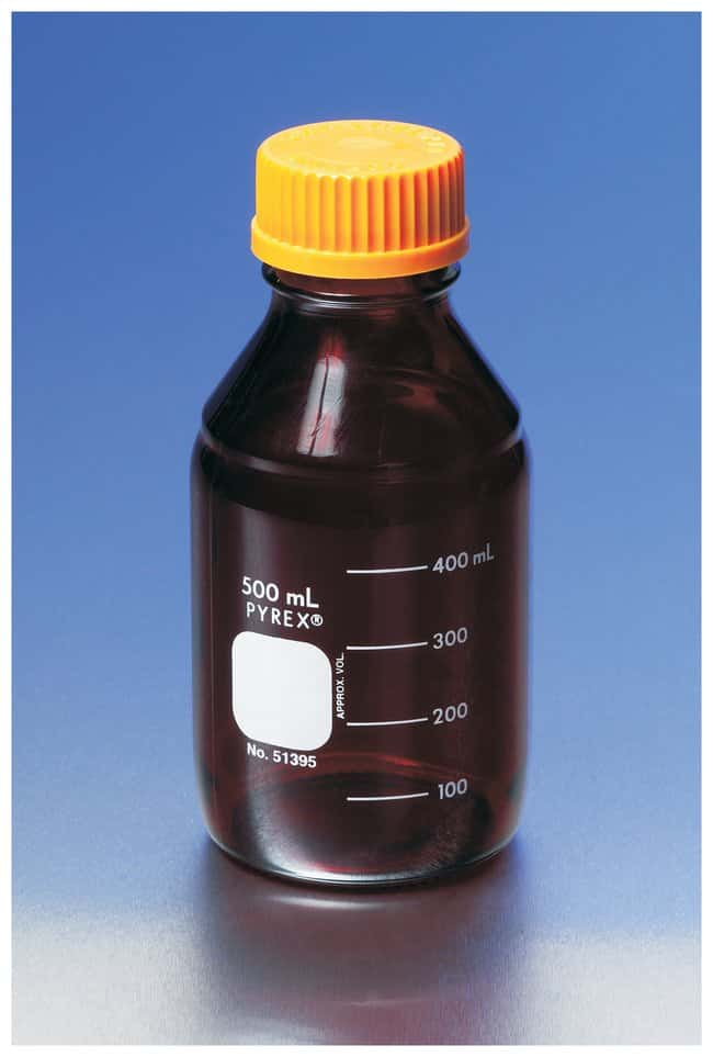 PYREX  Low-Actinic Media/Solution Bottles