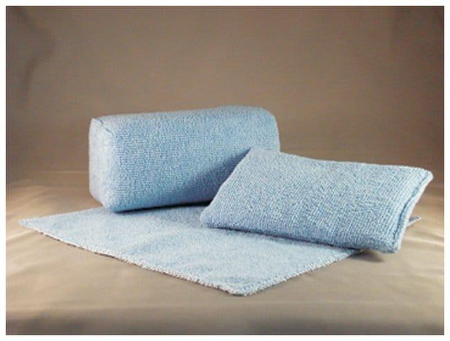 Micronova™Cleanroom Wipes Microfiber Wipe, polyester-nylon microfiber, single ply wipe, blue, 9 x 9 in. Micronova™Cleanroom Wipes