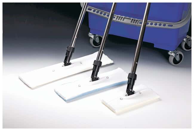 Micronova™SnapMop™ Moppbezüge aus Polyester SnapMop, MegaTex, Polyamid, bestrahlter Flachkopf-Moppaufsatz mit Druckknöpfen, 18in. (45,72cm) Micronova™SnapMop™ Moppbezüge aus Polyester