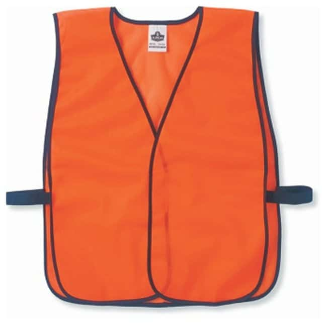 Ergodyne GloWear 8010HL Non-Certified Economy Vest:Gloves, Glasses and