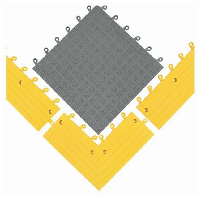 Wearwell ErgoDeck SOFT Solid Antifatigue Mats Charcoal; 18 x 18 in.:Gloves,