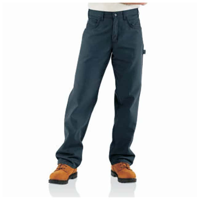 Carhartt Flame-Resistant Loose Fit Midweight Canvas Jeans:Gloves, Glasses