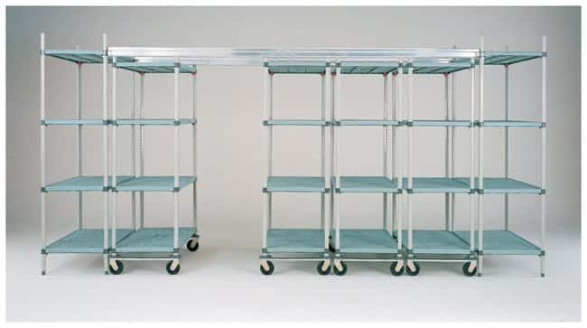 Metro™ Super Erecta™ Top Track Stationary Intermediate Unit Kits Stainless Steel; Shelf width: 457mm (18 in.) Metro™ Super Erecta™ Top Track Stationary Intermediate Unit Kits