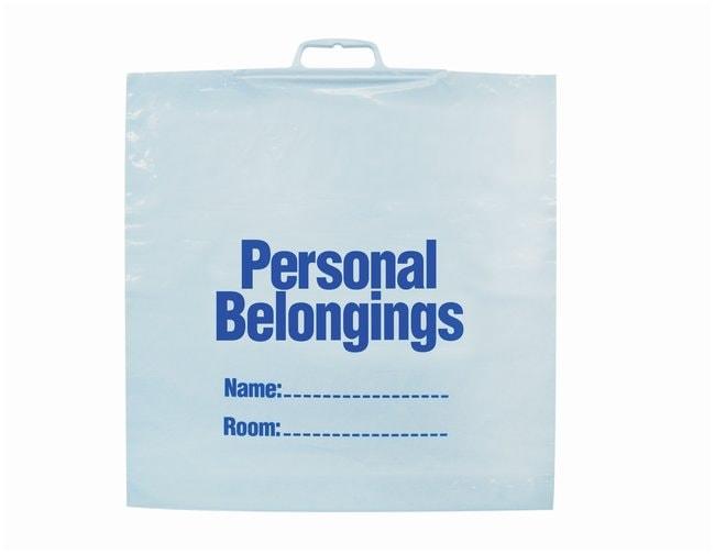 Minigrip Patient Belonging Bags White film; W x H: 20 x 20 in.; Gauge: