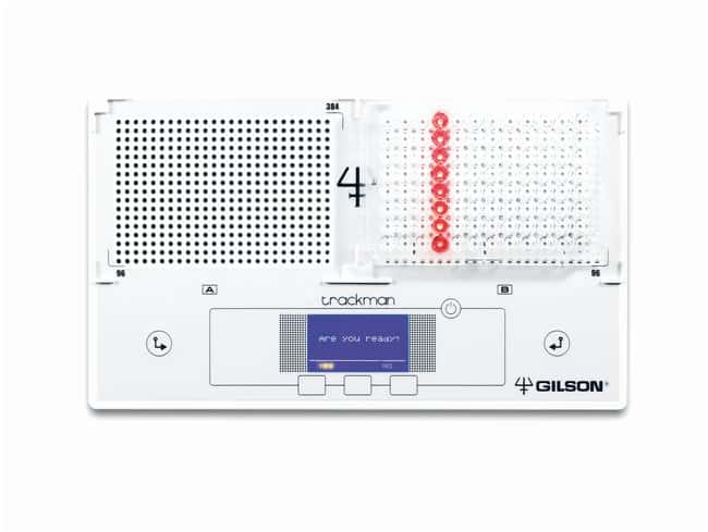 Gilson TRACKMAN Duo-plate Pipeting Tracker Used with 96 and 384 well microplates,