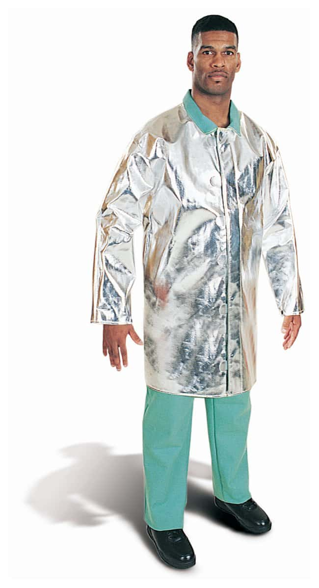 Steel Grip Aluminized Rayon Coats Aluminized PFR Rayon; 40 in. L; Small:Gloves,