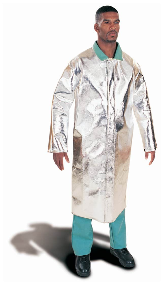 Steel Grip Aluminized Rayon Coats Aluminized PFR Rayon; 50 in. L; Large:Gloves,