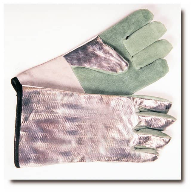 Steel GripAluminized Rayon Gloves 14 in.:Personal Protective Equipment