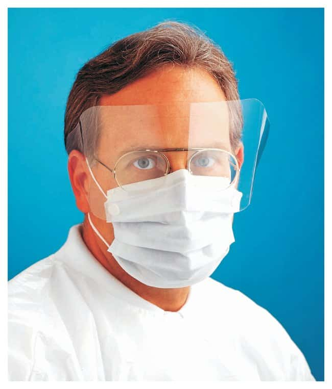 AlphaProTech Critical Cover ShieldMate Mask with Extended Shield Latex