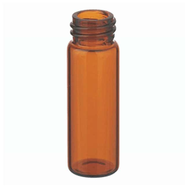 DWK Life SciencesWheaton™ Glass Sample Vials in Lab File without Caps 4mL; Amber; 13-425; 15 x 45mm DWK Life SciencesWheaton™ Glass Sample Vials in Lab File without Caps