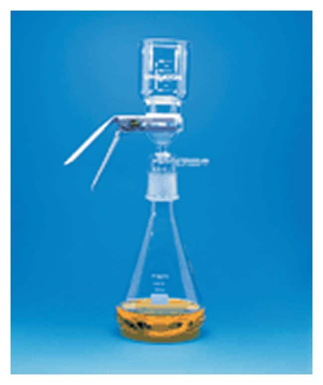 DWK Life Sciences Wheaton™ 47mm Filtration Assembly with Standard Taper Joint Connection and Fritted Glass Support