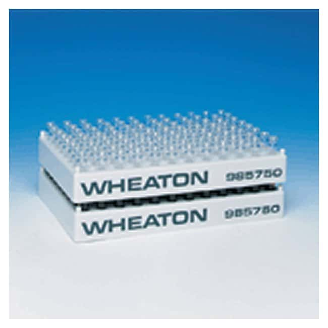 DWK Life Sciences Wheaton 96-Position Polypropylene Vial Racks for 8mm