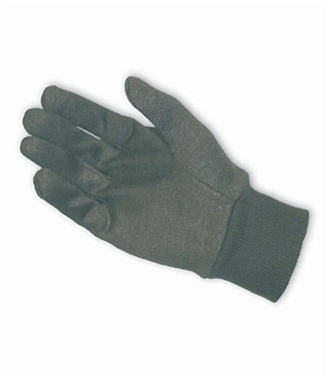 PIP Men's Cotton / Polyester Jersey Glove Brown; Size: men:Gloves, Glasses