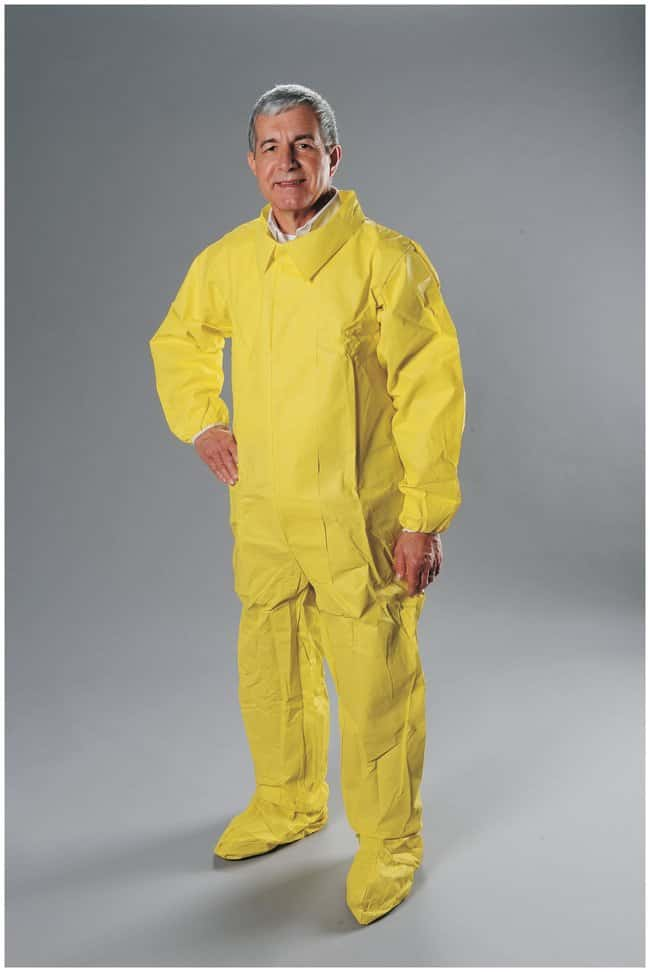 AlphaProTech Critical Cover ChemTech Coveralls Large; 25/Cs.:Gloves, Glasses