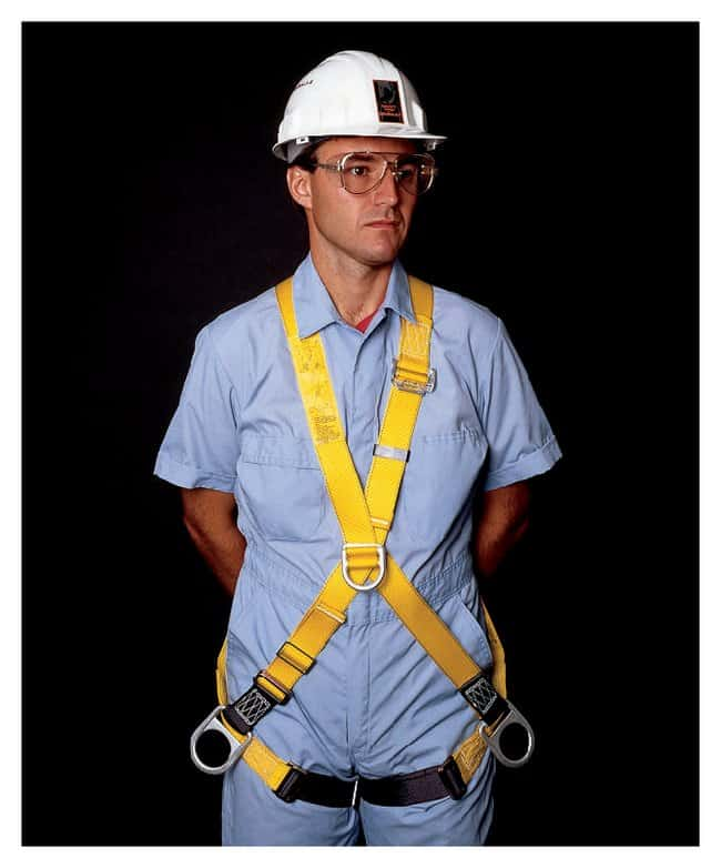 3M DBI-Sala Crossover Full-Body Harnesses With Sideand back and front D-rings;