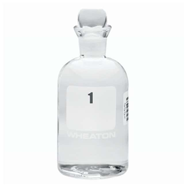 DWK Life Sciences Wheaton™ BOD Bottles 300mL; Pennyhead stopper; No. Sequence: 1 to 24 DWK Life Sciences Wheaton™ BOD Bottles