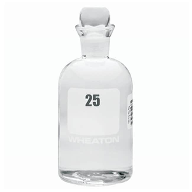 DWK Life Sciences Wheaton™ BOD Bottles 300mL; Pennyhead stopper; No. Sequence: 25 to 48 DWK Life Sciences Wheaton™ BOD Bottles