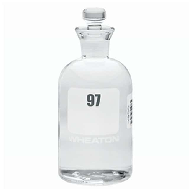 DWK Life Sciences Wheaton™ BOD Bottles 300mL; Robotic stopper; No. Sequence: 97 to 120 DWK Life Sciences Wheaton™ BOD Bottles