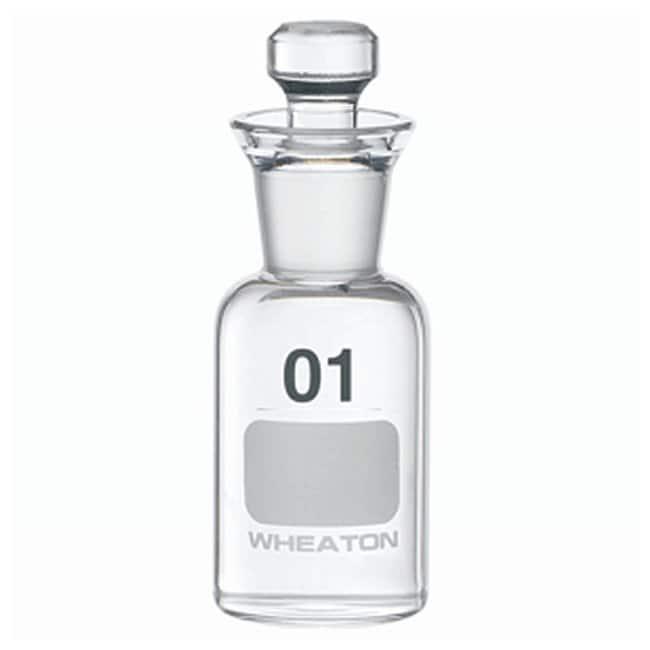 DWK Life SciencesWheaton™ BOD Bottles 60mL; Robotic stopper; No. Sequence: 1 to 36 DWK Life SciencesWheaton™ BOD Bottles