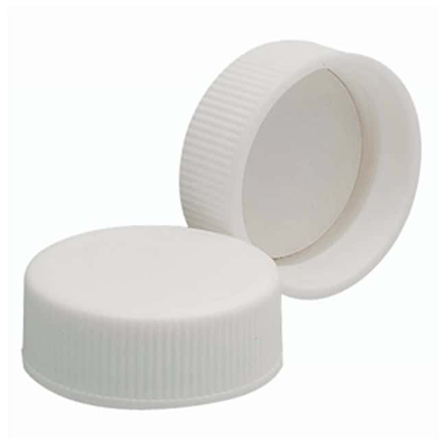 DWK Life Sciences Wheaton™ White Polypropylene Caps with Polyvinyl Liners Cap size: 28mm-400 Products