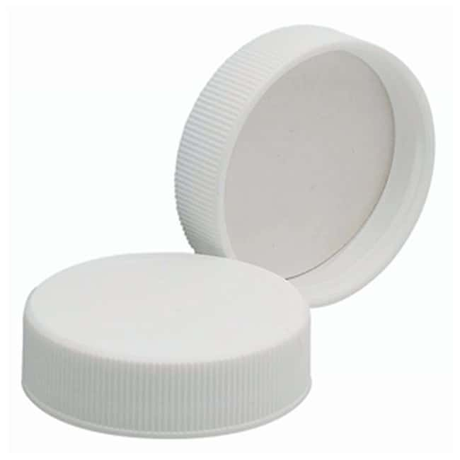 DWK Life Sciences Wheaton™ White Polypropylene Caps with Polyvinyl Liners Cap size: 38mm-400 Products