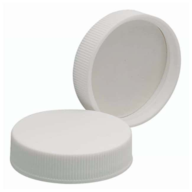 DWK Life Sciences Wheaton™ White Polypropylene Caps with Polyvinyl Liners Cap size: 43mm-400 products
