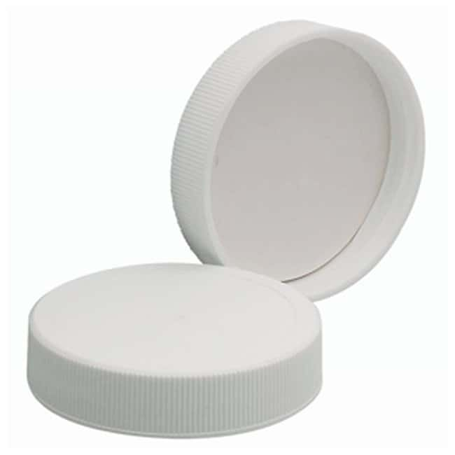 DWK Life SciencesWheaton™ White Polypropylene Caps with Polyvinyl Liners Cap size: 48mm-400 Products