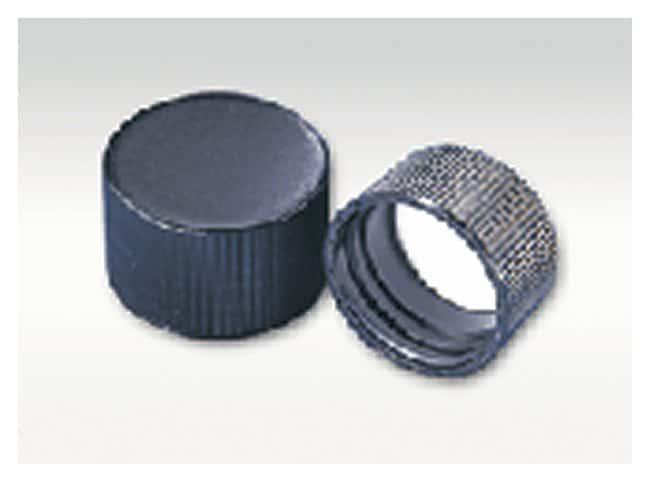 DWK Life SciencesWheaton™ Black Phenolic Screw Cap With Rubber Liner