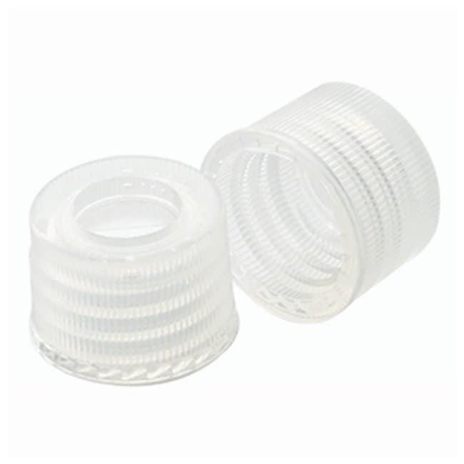 DWK Life Sciences Wheaton Preassembled Polypropylene Caps TFE/Silicone;