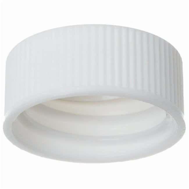 DWK Life Sciences Wheaton™ Caps For Liquid Scintillation Vials Cap, Polyropylene; Metal Foil Liner, GPI thread: 22-400mm Products