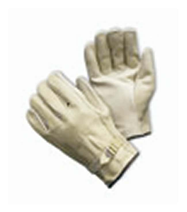 PIP Top Grain Cowhide Leather Drivers Glove with Pull Strap Closure Cowhide;