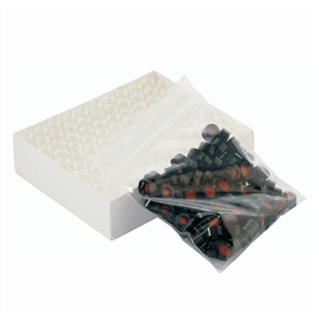 DWK Life SciencesWheaton™ ABC Vial Convenience Packs: Clear Glass Clear vial; Black Cap w/PTFE/Silicone Septa DWK Life SciencesWheaton™ ABC Vial Convenience Packs: Clear Glass